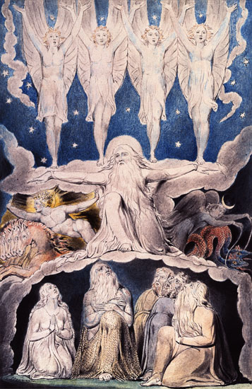 When the Morning Stars Sang Together, William Blake