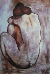 Blue Nude 1902 Oil Painting Reproduction