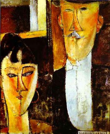 Bride And Groom 1915-16