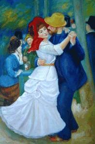 Dance at Bougival Oil Painting Reproduction renoir paintings - renoir art
