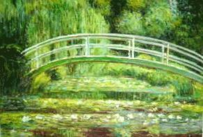 Japanese Bridge at Giverny 1900claude monet paintings - monet paintings