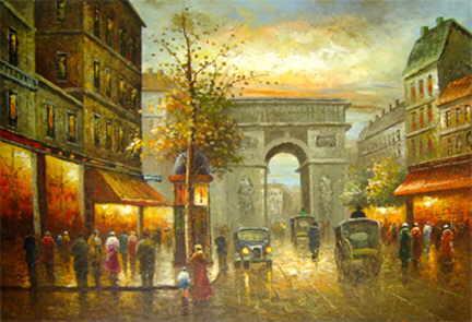Streets In Paris V