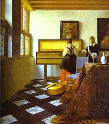 The Music Lesson 1662-1665