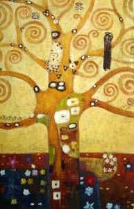 Tree of Life 1905-09 Oil Painting Reproduction