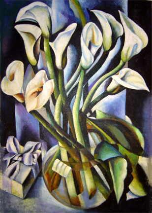 tamara de lempicka calla lilies