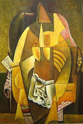 woman in an arm chair