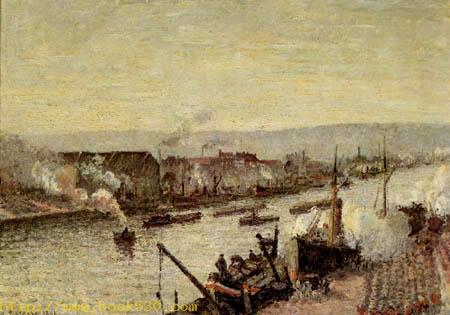 The Harbor of Rouen