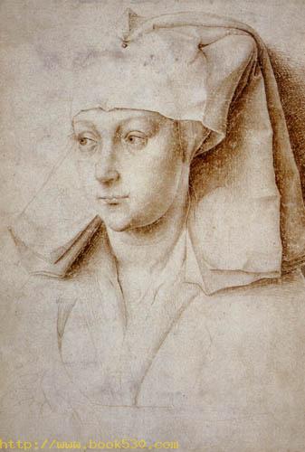A woman, study