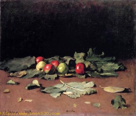 Apples and leafes