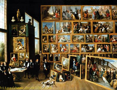 Archduke Leopold Wilhelm in his gallery