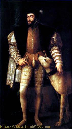 Carl V with dog