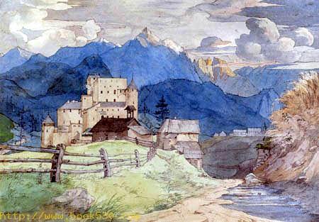 Castle Naudersberg in Tyrol