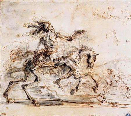Death rides over the battleground