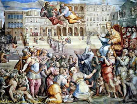 Gregor XI. verlegt den Sitz des Papstes