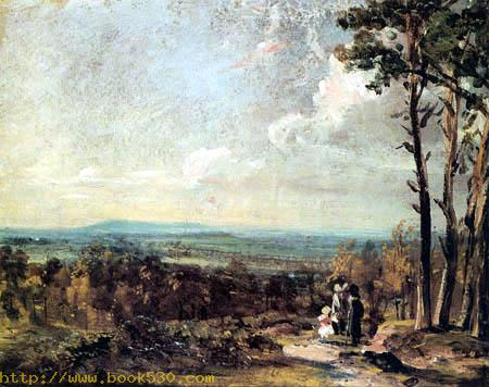 Hampstead Heath, Blick auf Harrow
