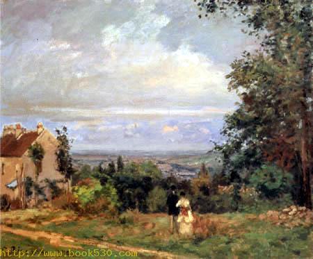 Landschaft nahe Louveciennes