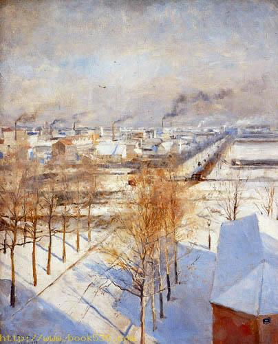 Paris im Schnee