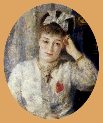 Portrait of Marie Meunier