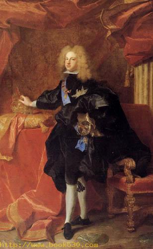 Portrait of Philip V