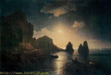 Rocky Bay in the moonlight