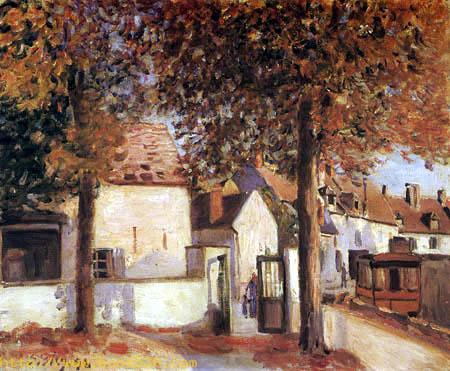 Rue des Fosses, Moret
