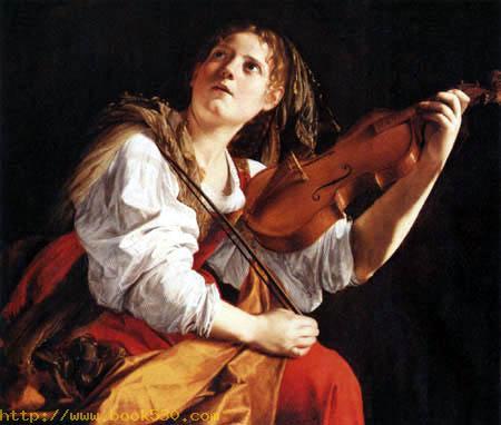 The holy Cecilia