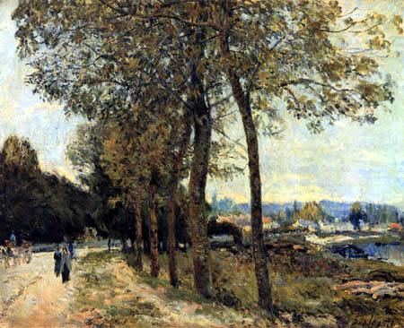 The Seine near Marly