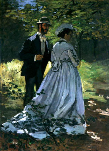 The Walkers Bazille and Camille