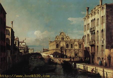 View of Rio dei Medicanti, Venice