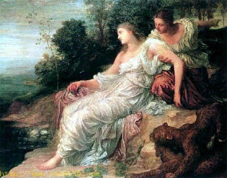 Ariadne on the island Naxos