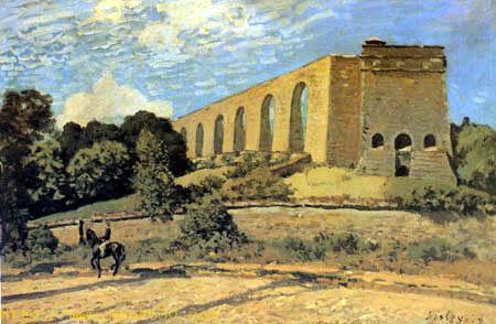 The Aqueduct at Marly