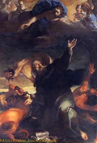 The temptation of the St Anthony