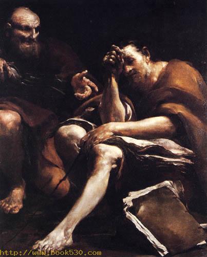 Demokrit und Eraklit
