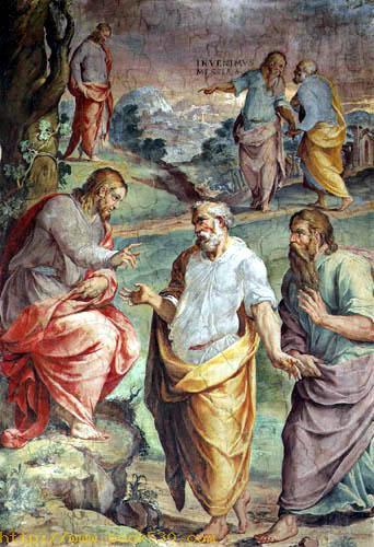 Die Berufung des hl. Petrus