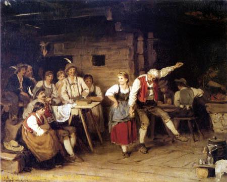 Grandfather dance lesson