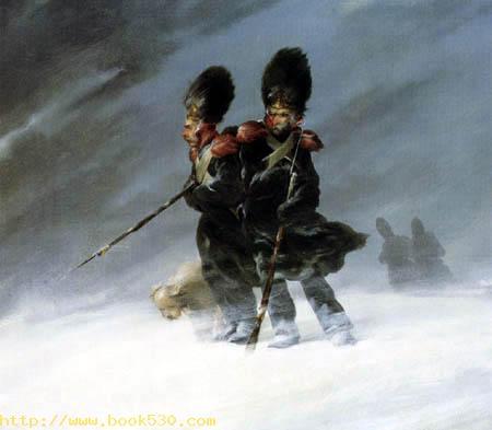 Grenadiere im Schnee