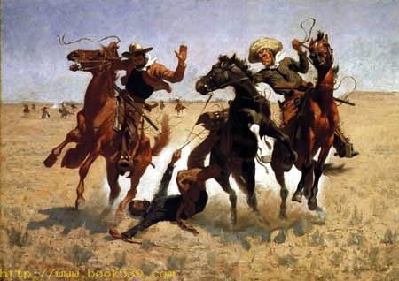 Hilfe am Cowboy