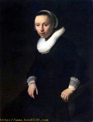 Portrait of a young woman in a easy chair