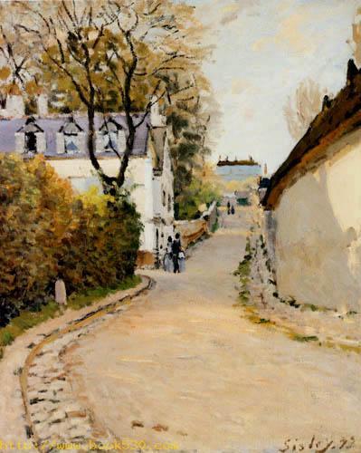 Rue de la Princesse, Louveciennes