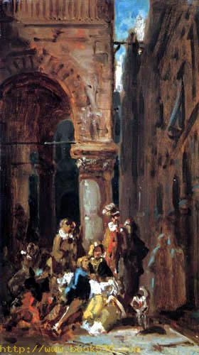 Schauspieler in Florenz