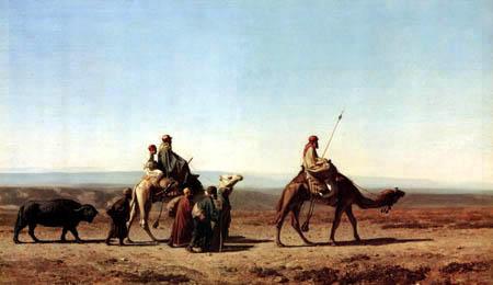 Syrischer Araber auf der Reise