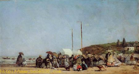 The Beach of Trouville