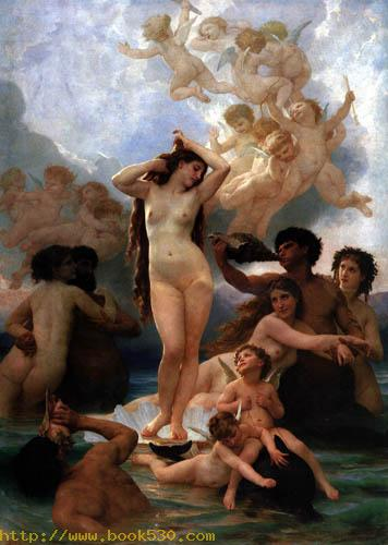 The birth of the Venus