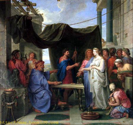 The marriage of Moses and Sephora