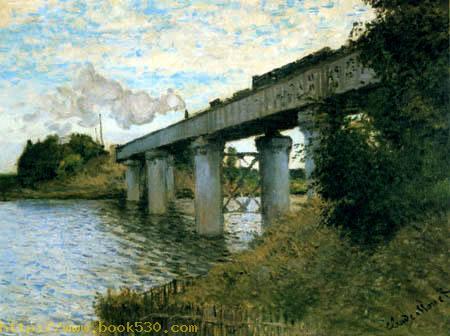 The railway bridge of Argenteuil