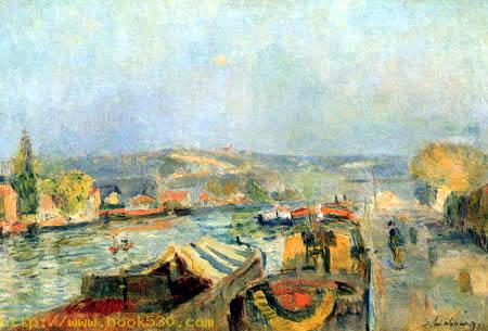 The Seine near Rouen