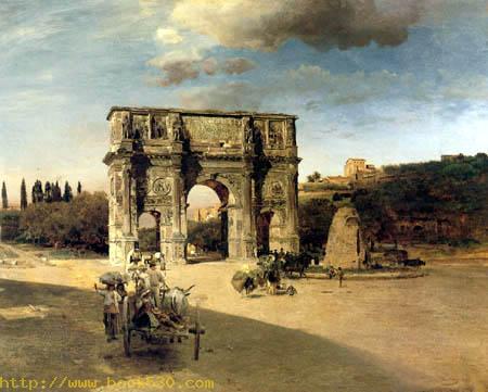 Triumphbogen des Konstantin in Rom