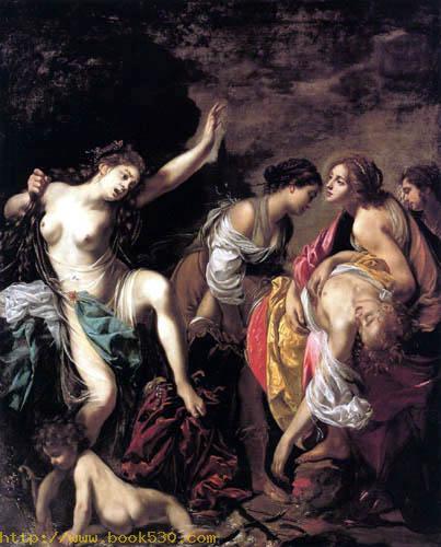 Venus lamented Adonis