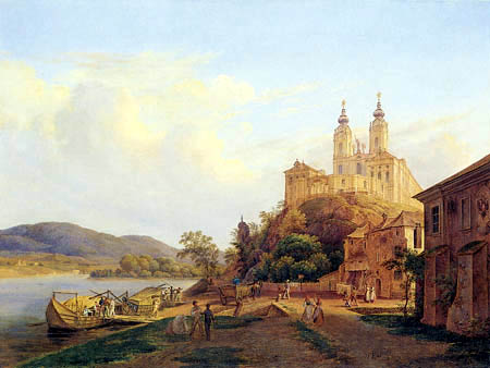 View of the Monastery Melk