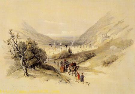 Between Ebal and Garizim